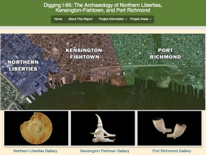 Philadelphia Archaeological Forum I-95 Report LInk