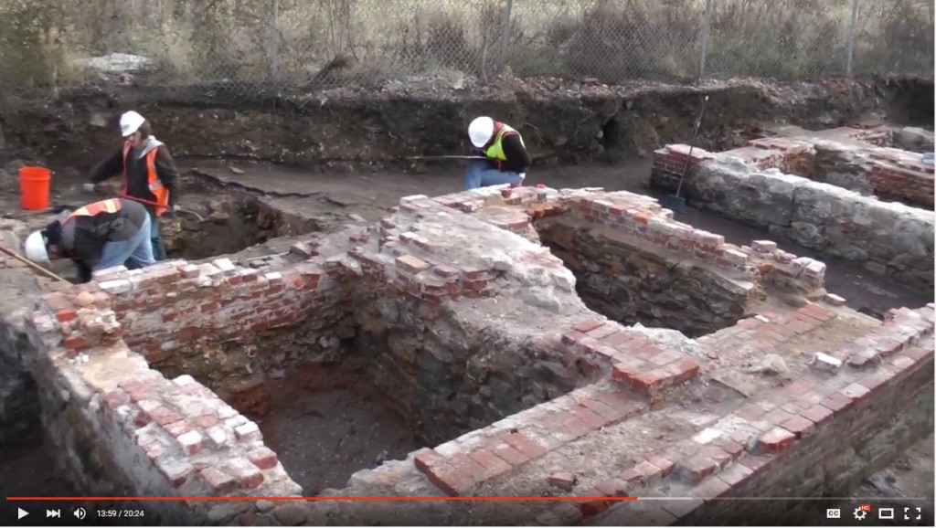 "The excavation of Philadelphia's Dyottville Glass Factory is one of the archaeology sites featured in the video, ""Digging Deep: Buried Landscapes of Prehistoric and Historic Pennsylvania"