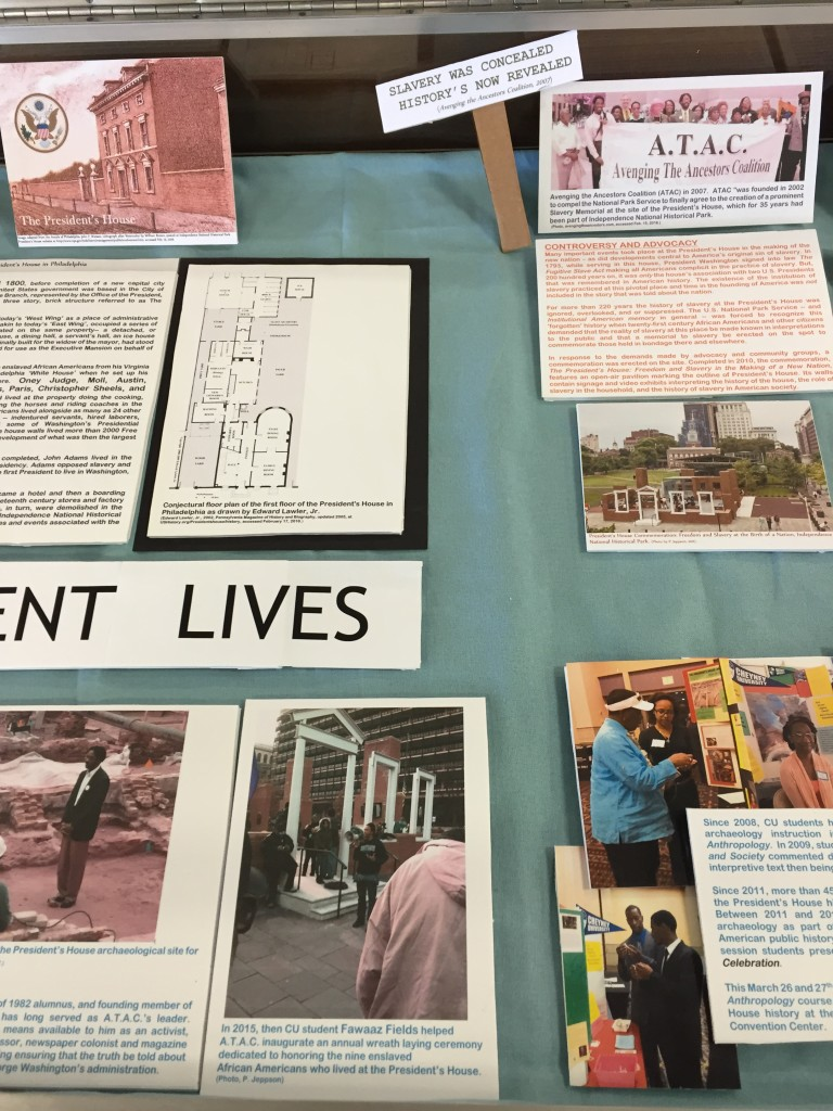 Resilient LIves: Cheyney University and the President's House Archaeology Site, Leslie P. Hill Library, Cheyney University