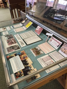Resilient Lives: Cheyney University and the President's House Archaeology Site, a display at the Leslie P. Hill Library, Cheyney University of Pennsylvania